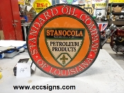 Standard Oil of Louisiana 14 in Sign