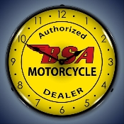 BSA Motorcycle clock