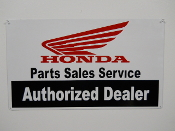 Honda Authorized Dealer Sign