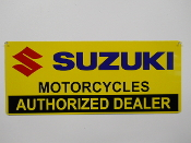 Suzuki Authorized Dealer Sign