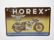 Horex Motorcycle Sign