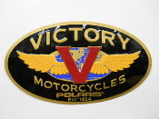 Victory Motorcycle Sign Used