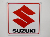 Suzuki Motorcycle Sign