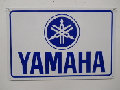 Yamaha Motorcycle Sign Large