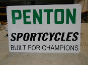 Penton Sportcycle Sign