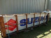 SUZUKI DEALER LIGHTED SIGN