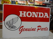 HONDA GENUINE PARTS SIGN