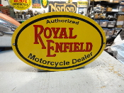 Royal Enfield Sm Oval Sign