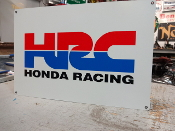 HONDA RACING SIGN HRC