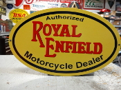 Royal Enfield Lg Oval Sign