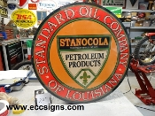 "Standard Oil of Louisiana 24"" Sign"