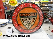Standard Oil of Louisiana 18 in w Sign