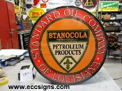 Standard Oil of Louisiana 18 in Sign