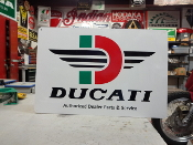 Ducati Flying D Sign