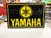 Yamaha Black/Yellow Sign