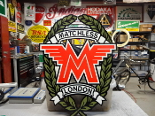 Matchless London Motorcycle Sign