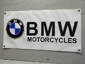 BMW Motorcycle Banner