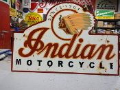 Indian Motorcycle Garage Sign
