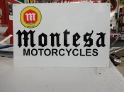 Montesa Motorcycle Sign