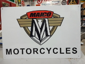 Maico Motorcycle Sign