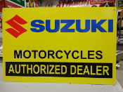 Suzuki Authorized Dealer 2 Sign